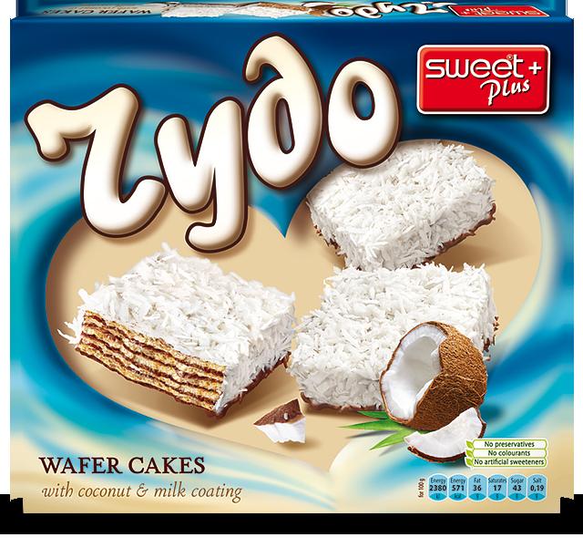 ЧУДО вафлени тортички с кокос 170 g