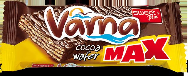 VARNA MAX вафла с какаов крем 56 g
